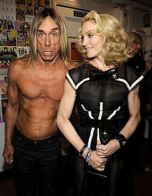 Madonna gets what Madonna wants: Iggy in the Hall